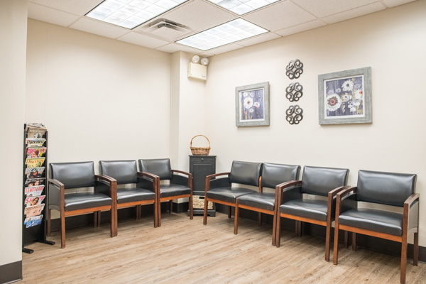 Private Mohs Waiting Room